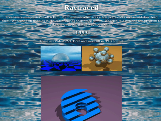 Raytraced